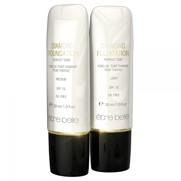 Diamond foundation - diamantna podlaga SPF15